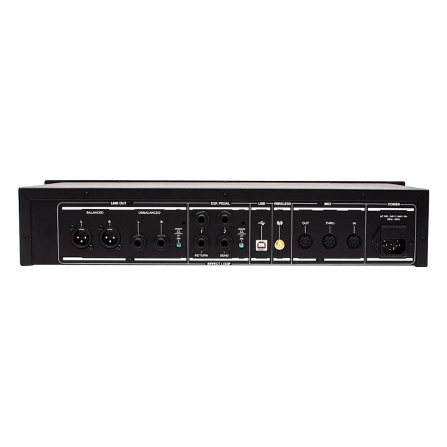 Positive Grid Bias Rack Processor Non Powered Modeling G