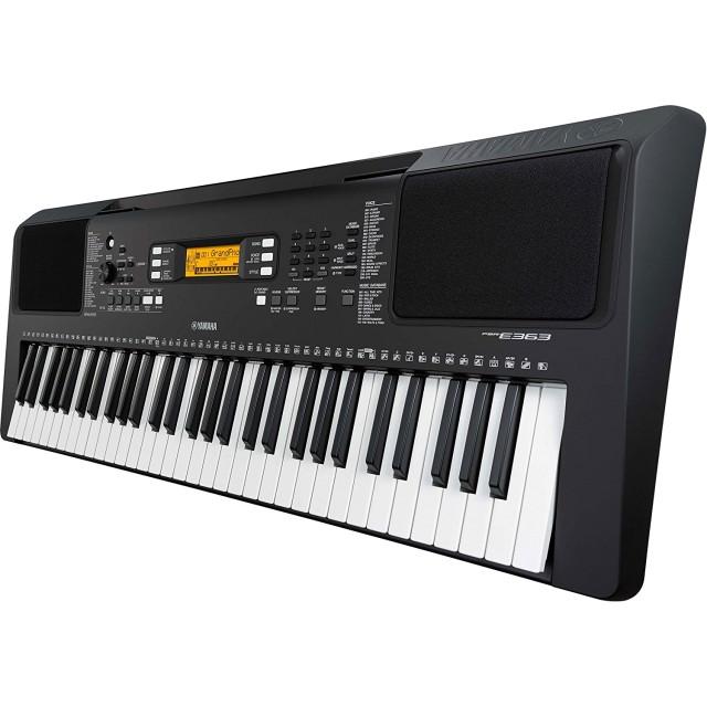 yamaha psr e363 touch sensitive portable keyboard. Black Bedroom Furniture Sets. Home Design Ideas