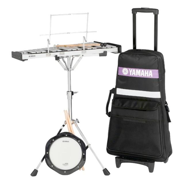 yamaha spk 275r student bell kit with rolling cart. Black Bedroom Furniture Sets. Home Design Ideas