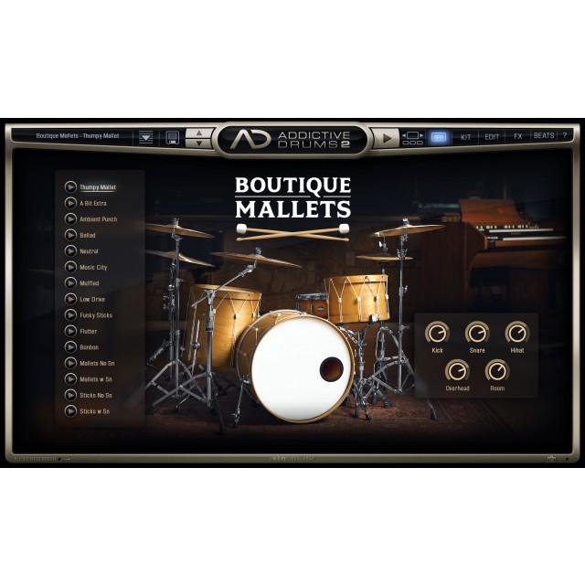 XLN Audio Addictive Drums 2: Boutique Mallets