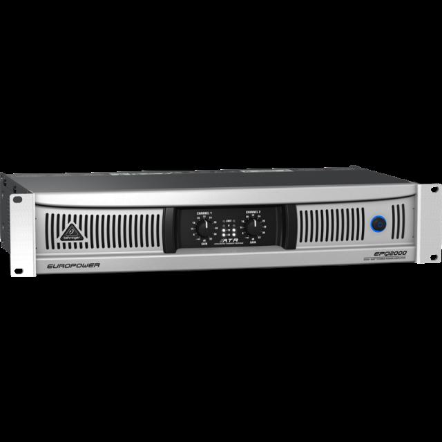 Behringer EPQ2000 2000-Watt Light Weight Stereo Power Amp
