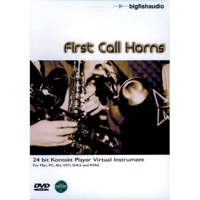 Big fish first call horns for Big fish soundtrack