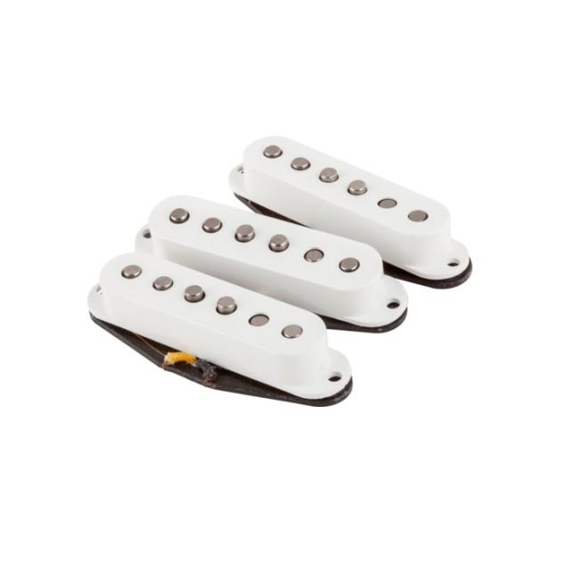 Fender Vintage Noiseless Strat Pickup Set Musicians Friend >> Fender 50s Stratocaster Pickups Set Of 3 In White