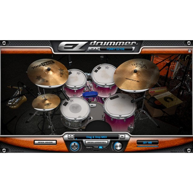 Toontrack Funk Masters EZX Expansion for EZ Drummer