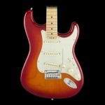 Fender American Elite Stratocaster- Aged Cherry Burst (Ash), Maple