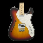 Fender American Elite Telecaster Thinline - 3-Color Sunburst