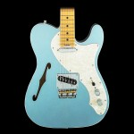 Fender American Elite Telecaster Thinline Maple Fingerboard Mystic Ice Blue