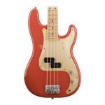 Fender Road Worn 50s P-Bass in Fiesta Red