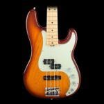 Fender American Elite Maple Fingerboard Precision Bass Tobacco Sunburst