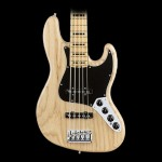 Fender American Elite Jazz Bass V Ash, Maple Fingerboard - Natural