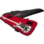 EVH Gig Bag, Black with Red Interior