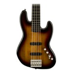 Fender Squier Deluxe Active Jazz V Bass in 3 Tone Sunburst