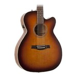 Seagull 040414 Entourage Rustic Concert Hall CW QIT Acoustic Electric Guitar