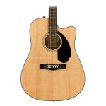 Fender Cd-60Sce Acoustic-Electric Guitar Natural