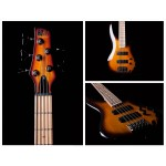 Ibanez SR375MBBT Soundgear Bass 5 String Brown Burst Maple Neck