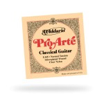 D'Addario EJ45 Pro-Arte Classical Guitar Strings Normal Wound Cle