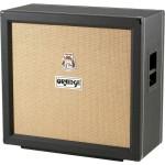 Orange PPC412CBK 4x12 Straight Speaker Cabinet in Black