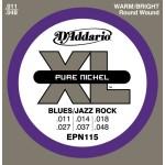 D'Addario EPN115 Blues/Jazz Rock 11-48