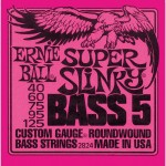 Ernie Ball 2824 Super Slinky 5-String Bass Nickel Wound .040 - .125