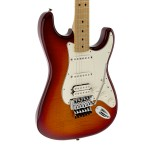 Fender Standard Stratocaster® Plus Top Electric Guitar Aged Cherry Burst