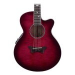 Daisy Rock Sophomore Butterfly Acoustic-Electric Guitar