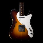 Fender 50's Thinline Telecaster Electric Guitar In Wide Fade 2 Color Sunburst