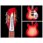 Rickenbacker 1993 Plus 12-String Electric Guitar In Fireglo