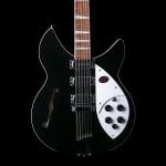 Rickenbacker 1993 Plus 12-String Electric Guitar Jetglo w/ Case
