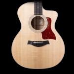Taylor 214ce-QM DLX Acoustic Electric Guitar w/ Case