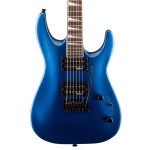 Jackson JS Series JS22 Arched Body Dinky Metallic Blue Electric Guitar