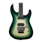 Jackson Pro Series SL2Q MAH Soloist Electric Guitar Alien Burst
