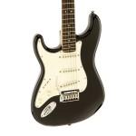 Squier Standard Strat® Left-Handed Electric Guitar Black Metallic
