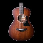 Taylor 322E-SEB 12-Fret Grand Concert Mahogany/Sapele Shaded Edgeburst ES2