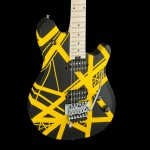 EVH Wolfgang® Special Striped Electric Guitar Black and Yellow