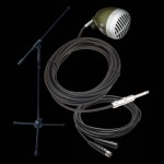 Shure 520DX Instrument Microphone Bundle- Shure 520DX Boom Stand & XLR Cable