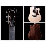 Taylor 810CE ES2 System Acoustic Electric Dreadnought Guitar with Case