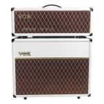 "Vox AC30C Head and 2x12"" Cabinet - Limited White Bronco"
