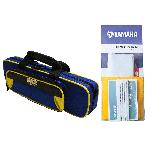 Alto Music Back to School Flute Bundle with Blue Gator Case & Maintenance Kit