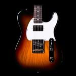 G&L ASAT Classic Bluesboy 3-Tone Sunburst Electric Guitar - Rosewood w/ Case