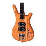 Warwick Corvette $$ Double Buck 4 String Bass in Honey Oil