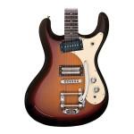 Danelectro '64 MOSRITE-Style Electric Guitar 3-Tone Sunburst