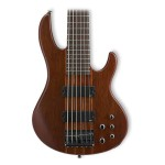 ESP Ltd D-6 6-String Bass Natural Satin