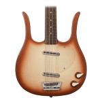 Danelectro 58 Longhorn Electric Bass Guitar - Copper Burst