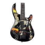 Dean E10APJ Edge 10 Bass with Active Electronics Skull Crusher Gr