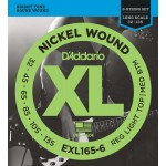 D'Addario EXL165-6 6-String Nickel Wound Bass Guitar Strings