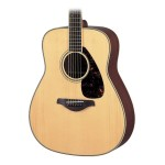 Yamaha FG720S Dreadnought Solid Sitka Top Natural Acoustic Guitar