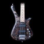 Warwick Fortress 2014 Limited Edition 4 String Bass in Nirvana Black Oil Finish
