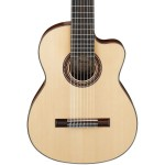 Ibanez G208CWCNT Solid Top Classical Acoustic 8-String Guitar w/ Case