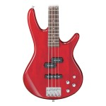 Ibanez GSR200 Bass Transparent Red 4-String