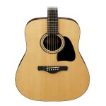 Ibanez Jam Pack Acoustic Guitar Package Gig Bag Tuner + Natural IJD100S